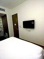 バンコク スクンビットのホテル : サチャズ ホテル ウノ(Sacha's Hotel Uno)のスタンダードルームの設備 Bedroom