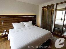 バンコク スクンビットのホテル : サチャズ ホテル ウノ(Sacha's Hotel Uno)のお部屋「デラックス(ダブル)」