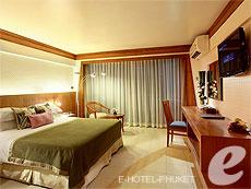 プーケット オーシャンビューのホテル : サファリ ビーチ ホテル(1)のお部屋「コンテンポラリー タイ グランド デラックス」