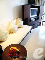 プーケット オーシャンビューのホテル : サファリ ビーチ ホテル(Safari Beach Hotel)のサファリデラックスルームの設備 Room View
