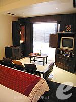 プーケット オーシャンビューのホテル : サファリ ビーチ ホテル(Safari Beach Hotel)のビーチウィングデラックスルームの設備 Room View