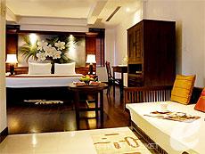 プーケット オーシャンビューのホテル : サファリ ビーチ ホテル(1)のお部屋「ビーチウィング ジュニア スイート」