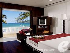 プーケット オーシャンビューのホテル : サファリ ビーチ ホテル(1)のお部屋「ビーチ ウィング デラックス シービュー」