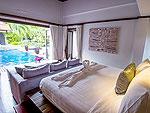 プーケット バンタオビーチのホテル : サイ ターン 19(Sai Taan 19)の4ベッドルームルームの設備 Master Bedroom
