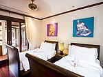 プーケット バンタオビーチのホテル : サイ ターン 19(Sai Taan 19)の4ベッドルームルームの設備 Third Bedroom