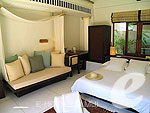 サムイ島 チョンモーンビーチのホテル : サラ サムイ チョンモンビーチ リゾート(SALA Samui Choengmon Beach Resort)のサラ プール ヴィラルームの設備 Bedroom