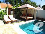サムイ島 フィットネスありのホテル : サラ サムイ チョンモンビーチ リゾート(SALA Samui Choengmon Beach Resort)のサラ プール ヴィラルームの設備 Private Pool