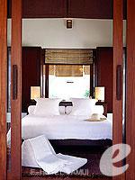 サムイ島 フィットネスありのホテル : サラ サムイ チョンモンビーチ リゾート(SALA Samui Choengmon Beach Resort)の1ベットルーム プールヴィラ スイートルームの設備 Bedroom