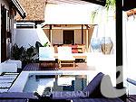 サムイ島 フィットネスありのホテル : サラ サムイ チョンモンビーチ リゾート(SALA Samui Choengmon Beach Resort)の2ベットルーム プールヴィラ スイートルームの設備 Bedroom