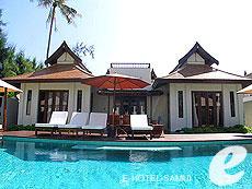 サムイ島 フィットネスありのホテル : サラ サムイ チョンモンビーチ リゾート(1)のお部屋「2ベッドルーム プレジデンシャル スイート」