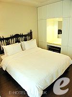 Bedroom : Studio at Saladaeng Colonnade, Silom Sathorn, Bangkok