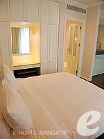 バンコク ファミリー&グループのホテル : サラデーン コロネード(Saladaeng Colonnade)のスタジオルームの設備 Bedroom