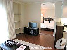 バンコク ファミリー&グループのホテル : サラデーン コロネード(Saladaeng Colonnade)のお部屋「スタジオ」