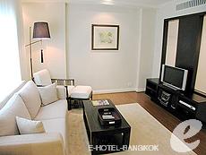 バンコク ファミリー&グループのホテル : サラデーン コロネード(Saladaeng Colonnade)のお部屋「デラックス(1ベッドルーム)」
