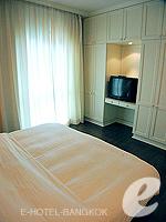 Bedroom : 2 Bed Room Deluxe at Saladaeng Colonnade, Silom Sathorn, Bangkok