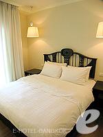 バンコク ファミリー&グループのホテル : サラデーン コロネード(Saladaeng Colonnade)のデラックス 2ベッドルームルームの設備 Bedroom