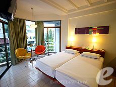 パタヤ ノースパタヤのホテル : サンダレー リゾート(1)のお部屋「スタンダード プラス」