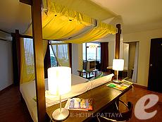 パタヤ ノースパタヤのホテル : サンダレー リゾート(1)のお部屋「 デラックス ルーム」