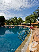 Swimming Pool / Santiburi Samui - The Leading Hotels of the World, สระว่ายน้ำหน้าวิลลา