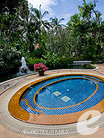 Jacuzzi : Santiburi Samui - The Leading Hotels of the World, Pool Villa, Phuket