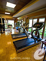 Fitness Gym : Santiburi Samui - The Leading Hotels of the World, Pool Villa, Phuket
