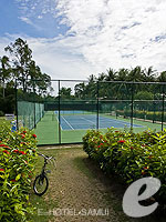 Tennis Court : Santiburi Samui - The Leading Hotels of the World, Pool Villa, Phuket