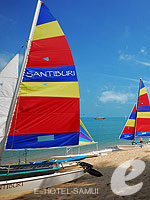 Beach Activities : Santiburi Samui - The Leading Hotels of the World, Pool Villa, Phuket