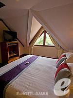 サムイ島 2ベッドルームのホテル : サンティブリ サムイ ザ リーディング ホテルズ オブ ザ ワールド(Santiburi Samui - The Leading Hotels of the World)の1ベッドルーム ディプレックス スイートルームの設備 Bedroom
