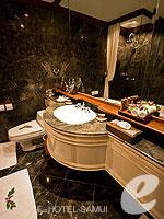 サムイ島 2ベッドルームのホテル : サンティブリ サムイ ザ リーディング ホテルズ オブ ザ ワールド(Santiburi Samui - The Leading Hotels of the World)の1ベッドルーム ディプレックス スイートルームの設備 Bathroom