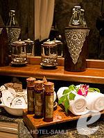 サムイ島 2ベッドルームのホテル : サンティブリ サムイ ザ リーディング ホテルズ オブ ザ ワールド(Santiburi Samui - The Leading Hotels of the World)の1ベッドルーム ディプレックス スイートルームの設備 Bath Amenities