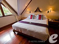 サムイ島 2ベッドルームのホテル : サンティブリ サムイ ザ リーディング ホテルズ オブ ザ ワールド(1)のお部屋「1ベッドルーム ディプレックス スイート」