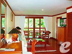 サムイ島 2ベッドルームのホテル : サンティブリ サムイ ザ リーディング ホテルズ オブ ザ ワールド(1)のお部屋「2ベッドルーム ディプレックス スイート」
