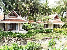 サムイ島 2ベッドルームのホテル : サンティブリ サムイ ザ リーディング ホテルズ オブ ザ ワールド(1)のお部屋「デラックス ガーデン リバー ヴィラ」
