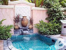 サムイ島 2ベッドルームのホテル : サンティブリ サムイ ザ リーディング ホテルズ オブ ザ ワールド(1)のお部屋「グランド デラックス ガーデン ヴィラ プルンジ プール」