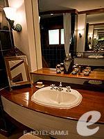 サムイ島 2ベッドルームのホテル : サンティブリ サムイ ザ リーディング ホテルズ オブ ザ ワールド(Santiburi Samui - The Leading Hotels of the World)のデラックス ビーチフロント ヴィラルームの設備 Bath room