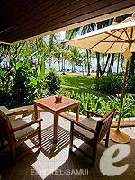 サムイ島 2ベッドルームのホテル : サンティブリ サムイ ザ リーディング ホテルズ オブ ザ ワールド(Santiburi Samui - The Leading Hotels of the World)のデラックス ビーチフロント ヴィラルームの設備 Terrace
