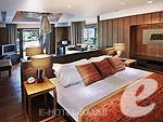 サムイ島 2ベッドルームのホテル : サンティブリ サムイ ザ リーディング ホテルズ オブ ザ ワールド(Santiburi Samui - The Leading Hotels of the World)のデラックス プールヴィラルームの設備 Bedroom