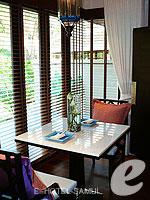 サムイ島 2ベッドルームのホテル : サンティブリ サムイ ザ リーディング ホテルズ オブ ザ ワールド(Santiburi Samui - The Leading Hotels of the World)のデラックス プールヴィラルームの設備 Dinning Area