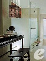 サムイ島 2ベッドルームのホテル : サンティブリ サムイ ザ リーディング ホテルズ オブ ザ ワールド(Santiburi Samui - The Leading Hotels of the World)のデラックス プールヴィラルームの設備 Bath Room