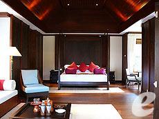 サムイ島 2ベッドルームのホテル : サンティブリ サムイ ザ リーディング ホテルズ オブ ザ ワールド(1)のお部屋「デラックス プールヴィラ」