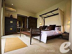 サムイ島 メナムビーチのホテル : サリー サムイ(1)のお部屋「トロピカルプールビラ」