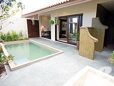 サムイ島 メナムビーチのホテル : サリー サムイ(1)のお部屋「ビーチフロントプールビラ」
