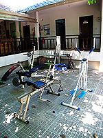 Fitness Gym : Sarikantang Resort & Spa, Beach Front, Phuket