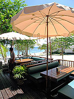 Restaurant : Sarikantang Resort & Spa, Beach Front, Phuket