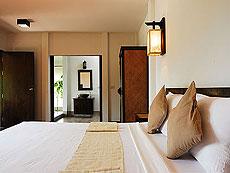 サムイ島 プライベートビーチありのホテル : サリカンタン リゾート & スパ(1)のお部屋「オーシャンビュー ヴィラ」