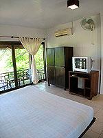 サムイ島 プライベートビーチありのホテル : サリカンタン リゾート & スパ(Sarikantang Resort & Spa)のスーペリアルームの設備 Bedroom