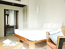 サムイ島 プライベートビーチありのホテル : サリカンタン リゾート & スパ(1)のお部屋「スーペリア」
