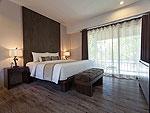 サムイ島 プライベートビーチありのホテル : サリカンタン リゾート & スパ(Sarikantang Resort & Spa)のデラックスルームの設備 Bedroom