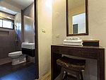 サムイ島 プライベートビーチありのホテル : サリカンタン リゾート & スパ(Sarikantang Resort & Spa)のデラックスルームの設備 Bathroom