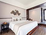 サムイ島 プライベートビーチありのホテル : サリカンタン リゾート & スパ(Sarikantang Resort & Spa)のデラックス ウィズ バスルームの設備 Room View